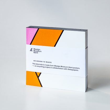 Notepad 'No Design To Waste' Redopapers