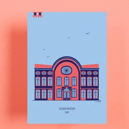 Post card Design Museum Gent mmmMAR