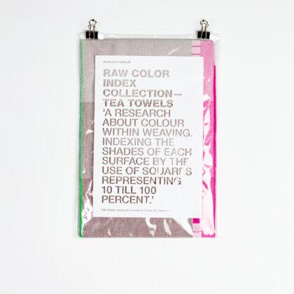 Raw Color Tea Towel