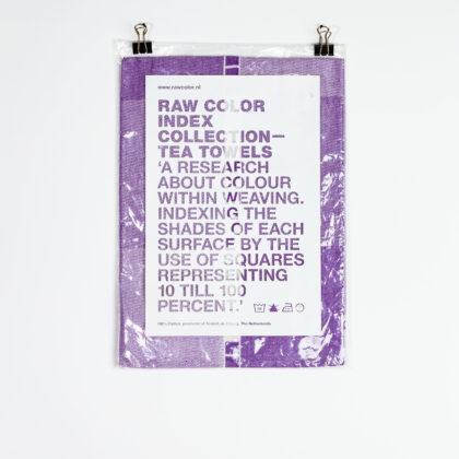 Raw Color Tea Towel 2