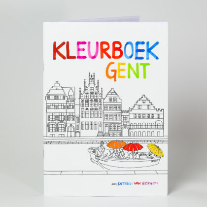 Colouring book Ghent