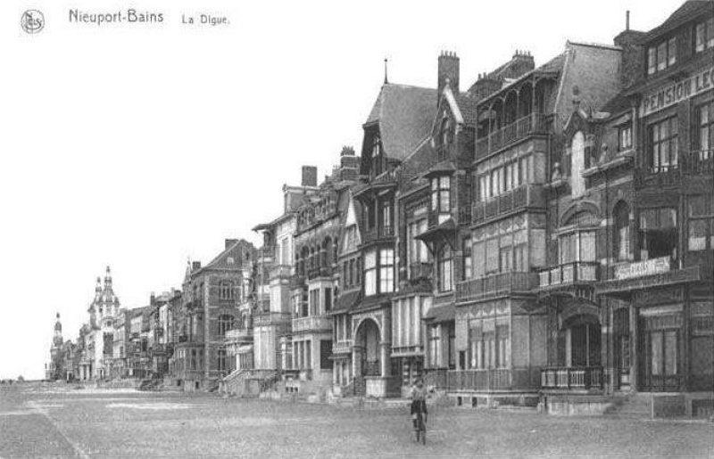 Andere Cottages Langs De Weg Tussen Nieuwpoort Bad En Nieuwpoort Stad Tussen 1923 En 1940