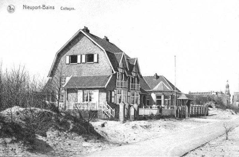 De Dijk Van Nieuwpoort Bad Tussen 1923 En 1940
